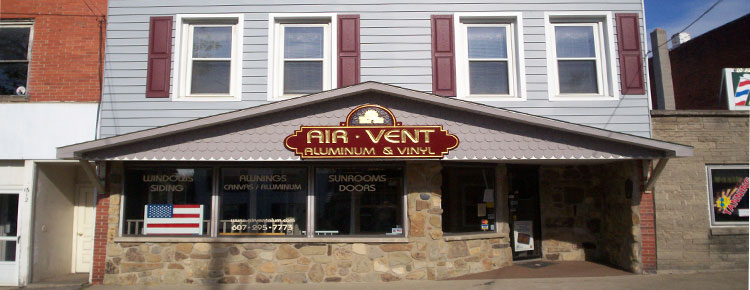 Air, Vent, Aluminum & Vinyl Showroom
