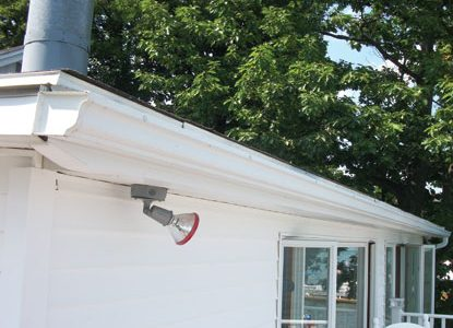 Air Vent Aluminum and Vinyl Seamless Gutters